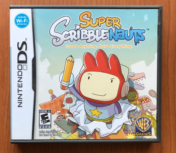 Super Scribblenauts - Nintendo Ds Original