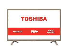 Tv Led 32 Semp Toshiba Hd Usb Hdmi 32l1800