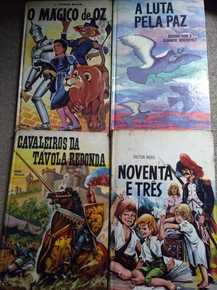4 Livros Coleção Antiga Infantojuvenil Ano 1960 Raros