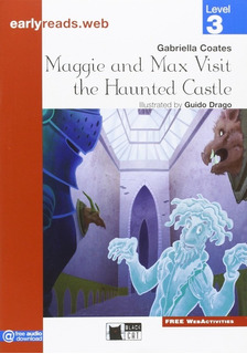 Maggie And Max Visit The Haunted Castle - Black Cat