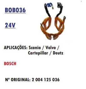 Bobina De Campo 24v Kb Scania Volvo Cartepillar Grande
