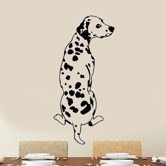 Adesivo De Parede - Cachorro Dálmata Cão Dog Amigo Amor Pet