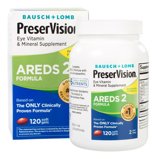 Preservision Areds 2 Eye Vitamin Mineral Sup 120 Softgels