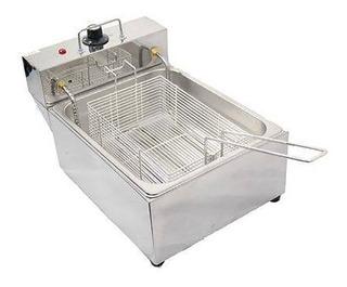 Fritadeira Elétrica Profissional 5 Litros Aço Inox 3000w