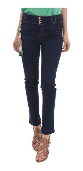 Jeans Studio F Stertch, Sin Bolsos Llavero Pump Up 6459l