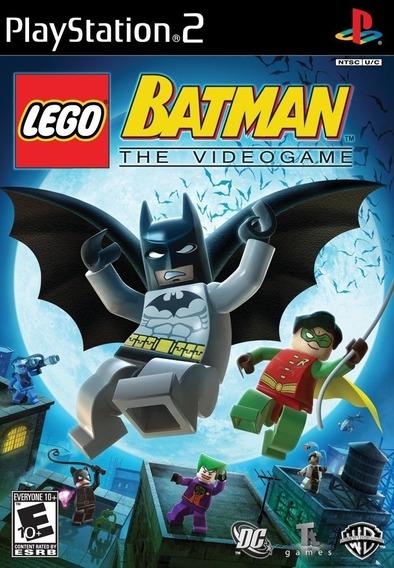Jogo Lego Batman - The Video Game (usado) Ps2 Original
