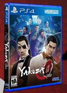 Yakuza 0 Zero Ps4 Disco, Nuevo Y Sellado