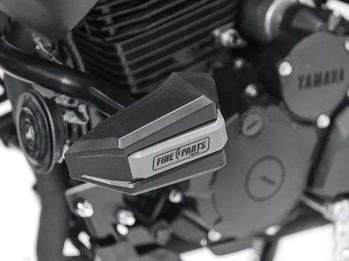 Imagen 1 de 5 de Defensa Slider Ghost Yamaha Fz25 Fire Parts
