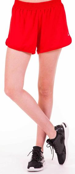 Pantalon Sporty Short Rojo Mujer Le Coq Sportif