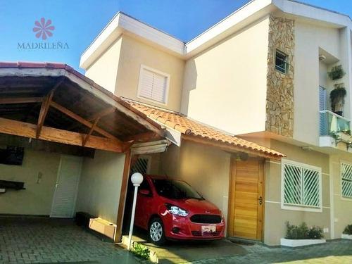 Imagem 1 de 15 de Casa Sobrado Condomínio Em Vila Esperança  -  São Paulo - 790