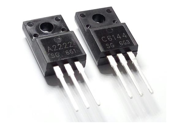 Kit 3 Pares Transistor C6144 A2222 L355 L210 Frete 10,00