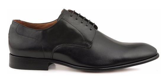 Sapato Social Derby Masculino Preto