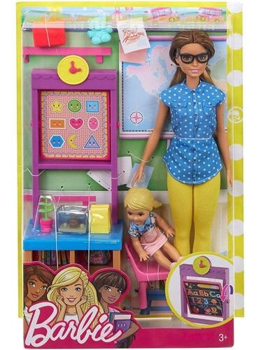 Barbie Profesiones Profesora Original Mattel