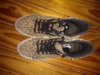 2zapatillas vans leopardo mujer