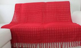 Kit C/ 3x Mantas Para Sofa 100% Algodão - 1,20m X 1,80m