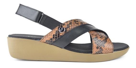Zapatos De Mujer De Cuero Sandalias Soria - Ferraro