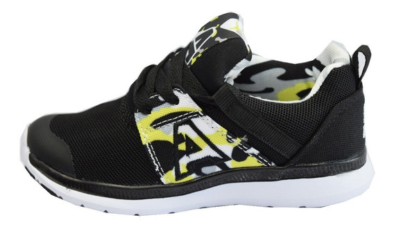 Zapatillas Addnice Running Socks Force Camo Kids Negro-lima