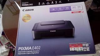 Impresora Canon Pixma Mod E402 Multifuncion+sistema Continuo
