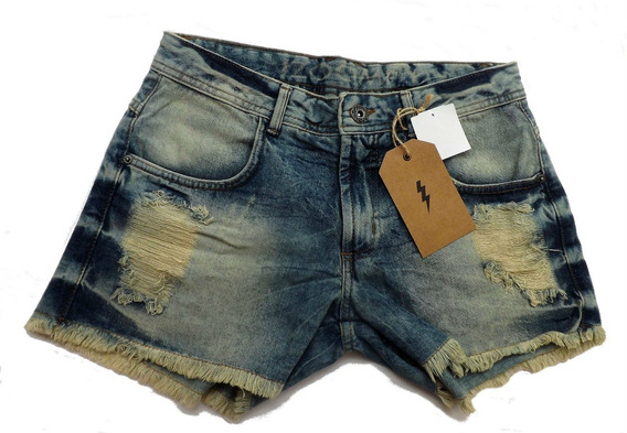 Short Jeans Zoomp Feminino-cód.uni000541-universizeplus