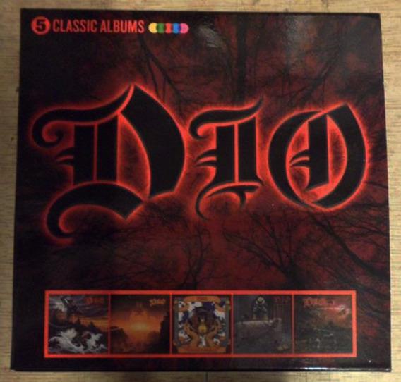 Dio 5 Classic Albums Box Cd Lacrado Importado Pronta Entrega