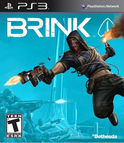 Brink Ps3 - Leia Descrição