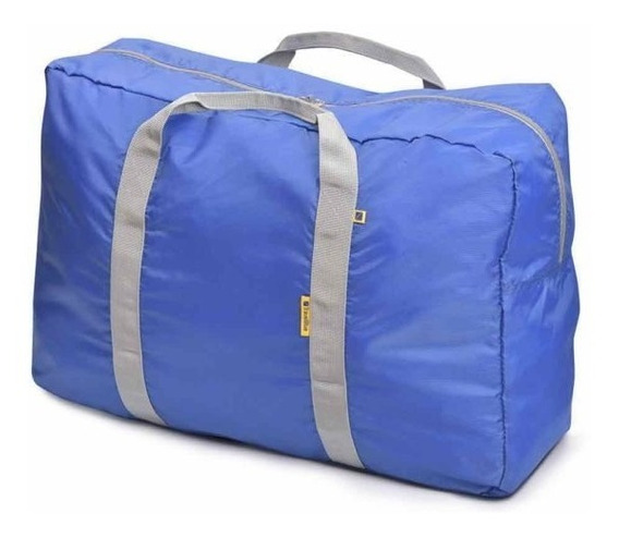 Bolsa Plegable Travel Blue Poliester Carry Bag 48 Lt Tb-067