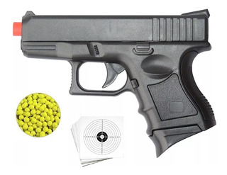 Pistola Airsoft Cyma Spring P698 Bb´s 6mm + 100 Bb´s + Alvo!