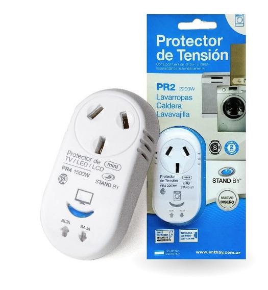 Protector De Tension Lavarropas/caldera/lavavajilla Pr2