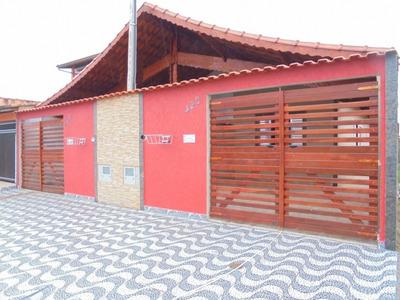 Casa Nova Em Mongaguá Em Ótimo Local, Minha Casa Minha Vida - 1261