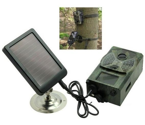 Câmera De Trilha Hc300a + Painel Solar Visão Noturna Oferta