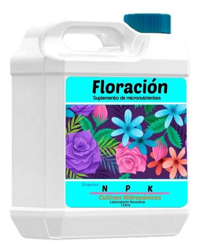 Imagen 1 de 2 de Floración-cultivos Hidropónicos Micronutrientes ( N P K ) 1l