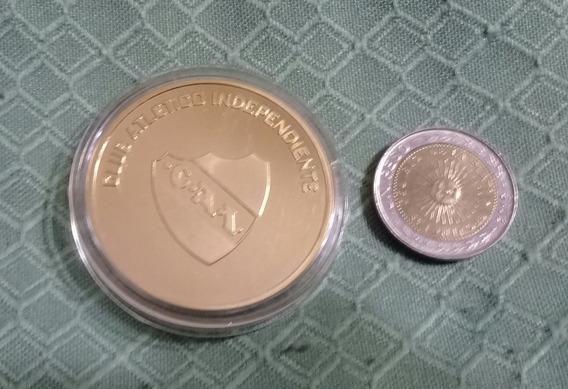 Moneda Medalla Club Independiente Estadio Libertadores 2009