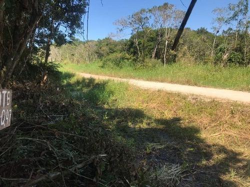Terreno No Litoral Com 415 M², Em Itanhaém/sp 4028-pc