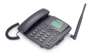 Telefone Celular Rural Fixo De Mesa 3g Pentaband Ca42s