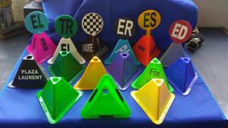 Pirámide, Cono, Torre De Control Vehicular