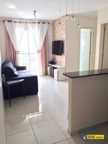 Apartamento Com 2 Dormitórios À Venda, 48 M² Por R$ 262.000,00 - Vila Gonçalves - São Bernardo Do Campo/sp - Ap0969
