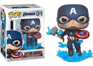 Funko Avengers Endgame Capitan America 573 Shield Y Mjolnir