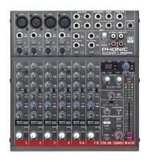 Phonic Helixboard 12u Mixer Multitrack 10ch Usb Firewire