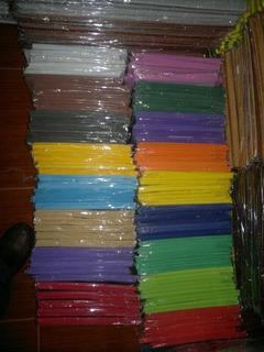 Pack Goma Eva Pliego Lisa 24 Colores Diferentes