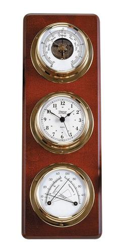 Kit Instrumentos Barometro Reloj Termometro Higrometro