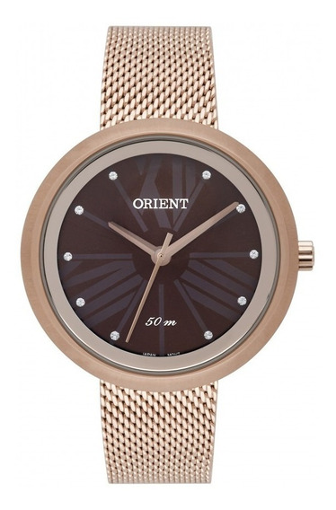 Relógio Orient Feminino Rosé Frss0040n3rx