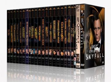 007 - Coleção Completa (25 Filmes)