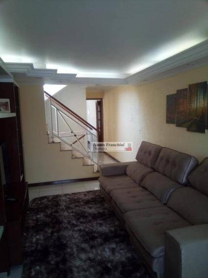 Parque São Lucas-zl/sp- Sobrado 3 Dormitórios,1 Suíte,2 Vagas,edícula - R$ 700.000,00 - So0955