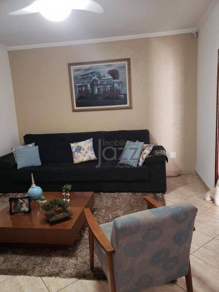 Casa Com 3 Dormitórios À Venda, 152 M² Por R$ 425.000 - Parque Jatobá (nova Veneza) - Sumaré/sp - Ca6545