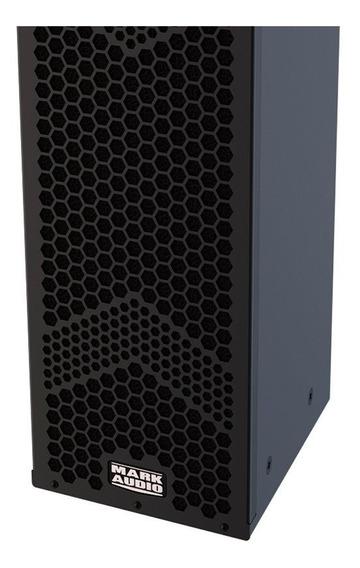 Caixa Ativa Autoamplificada Mark Audio Hmk6/b 2x6 500w