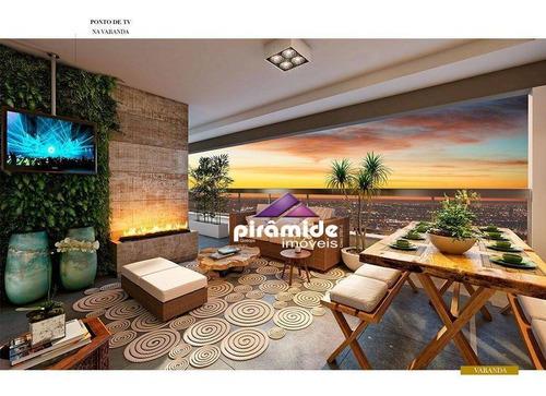 Apartamento À Venda, 139 M² Por R$ 819.850,32 - Jardim Aquarius - São José Dos Campos/sp - Ap13145