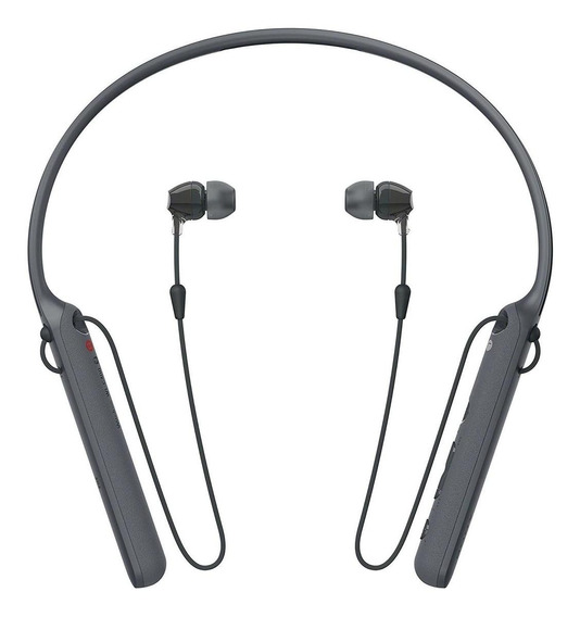 Fone de ouvido sem fio Sony WI-C400 preto