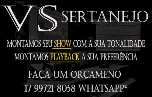 Imagem 1 de 1 de Playback E Vs Sertanejo Com Sua Tonalidade
