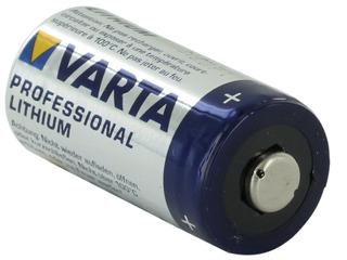 Pila Cr123a Varta Litio 3v P/ Sensores, Alarmas, Camaras