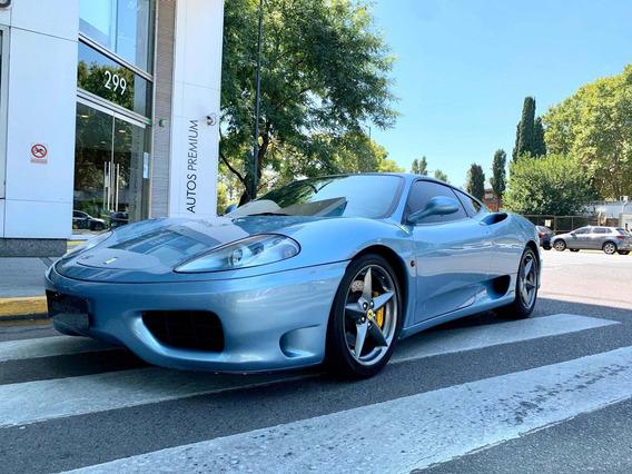 Gd Motors Ferrari 360 Modena F1 Celeste 2002 28600km
